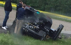 "Koenigsegg Agera RS ""Gryphon"" crashed...again"