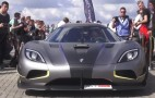 Koenigsegg Agera RS Prototype makes beautiful noise at a supercar event