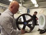 Koenigsegg One:1 carbon fiber wheel