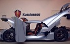 Koenigsegg Shows Some Skin With Regera Supercar: Video