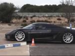 Koenigsegg Regera safety test