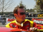 Kurt Busch tried some drag racing on a NASCAR Sprint Cup off-weekend - Anne Proffit photo