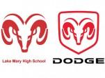 Lake Mary High School logo vs. Dodge Ram logo
