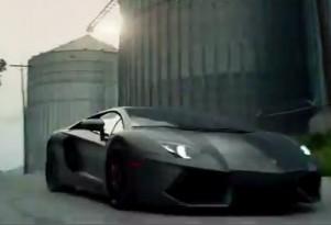 Lamborghini Aventador in 'Transformers: Age Of Extinction'