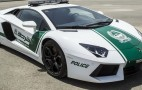 Only In Dubai: Police Take Delivery Of Lamborghini Aventador