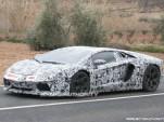 Lamborghini Aventador LP700-4 spy shots