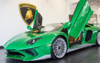 Miura-inspired Lamborghini Aventador SV makes us green with envy