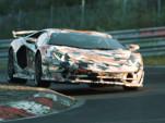 2020 Lamborghini Aventador SVJ prototype on track