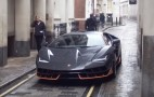 Transformers 5 cars spotted in London, including Lamborghini Centenario (aka Hot Rod)