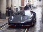 Lamborghini Centenario on the set of 'Transformers: The Last Knight'
