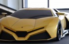 Design Student Updates The Countach, Awesomely