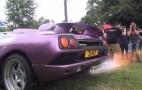 Lamborghini Diablo SV Is Making Fire, Not On Fire