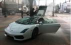 Exclusive: Lamborghini Gallardo Catches Fire At Portland Auto Show
