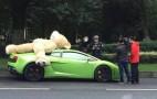 Giant Teddy Bear Not Allowed Atop Lamborghini Gallardo