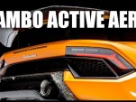 Engineering Explained Lamborghini active aero
