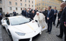 Special Lamborghini Huracán donated to Pope Francis for charity