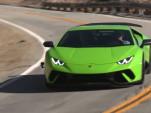 Lamborghini Huracan Performante roars into Jay Leno's Garage