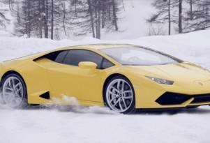 Lamborghini Huracán at Winter Driving Academy