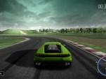 Lamborghini Huracán driving simulator screencap.