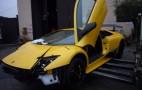 Ultra-Rare Lamborghini Murcielago LP670-4 SV Suffers Crash