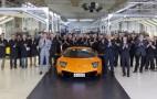 Last Lamborghini Murcielago Rolls Off The Line, Number 4,099