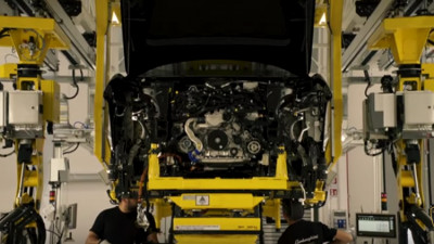 Lamborghini Urus production in Sant'Agata Bolognese, Italy