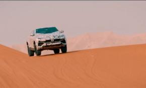 Lamborghini Urus Sabbia mode teaser