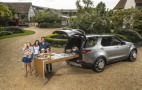 Land Rover turned a Discovery into a rolling kitchen for chef Jamie Oliver