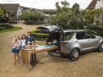 Jamie Oliver's Land Rover Discovery mobile kitchen