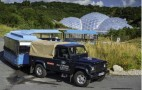 Land Rover's Electric Defender Proves Its Worth At UK's Eden Project