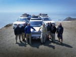 Land Rover Expedition completes cross-country trip, completely off-road