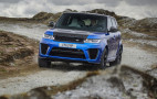 2018 Land Rover Range Rover Sport SVR revealed with 575 horsepower