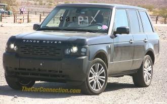 Spy Shots: 2010 Land Rover Range Rover