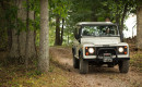 "Land Rover Experience ""Defender Driving Experience"" with vintage Defender"