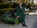 Lapo Elkann and his custom Ferrari 458 Italia