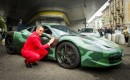 Lapo Elkann at Garage Italia Customs
