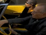Larry King takes a ride in Snoop Dogg's 1967 Pontiac Parisienne convertible