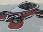 Lazzarini Design flying hover car concept