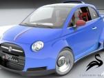 Lazzarini Design's Fiat 550 Italia concept