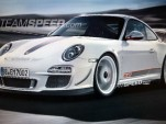 Leaked image of Porsche 911 GT3 RS 4.0 via Teamspeed.com