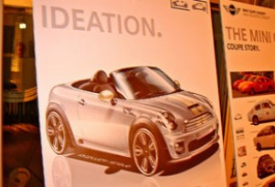 Leaked Mini Roadster Concept Sketch