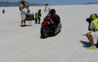Legendary motorcycle speed champ Burt Munro lives on through his great-grandnephew