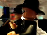 LEGO Blues Brothers chase video