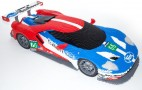 Lego Ford GT on display at Le Mans