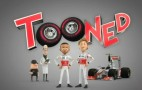 New Cartoon Stars Lewis Hamilton And Jenson Button: Video