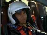 Lewis Hamilton drives Top Gear's Suzuki Liana