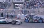 Lewis Hamilton In His F1 Car Takes On Ken Block In A Fiesta ST Rallycross: Video