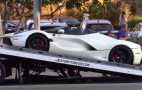 Lewis Hamilton spotted in LA with new Ferrari LaFerrari Aperta