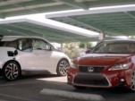 "Lexus CT 200h ""Dad-chelor Party"" ad screencap"