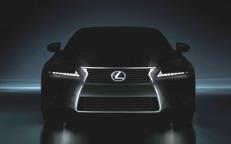 2013 Lexus GS Teaser Image Shows Up On Facebook
